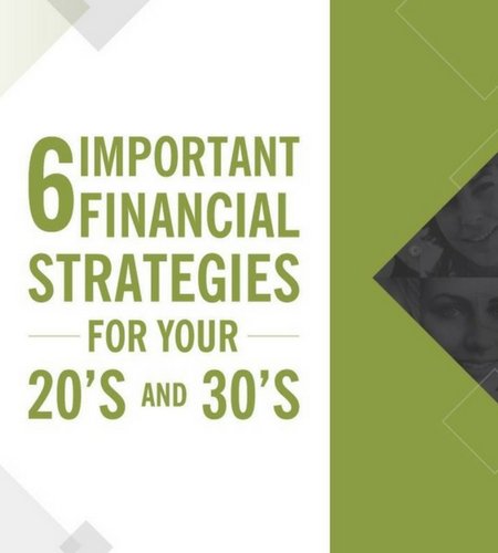 6 Important Financial Strategies for Your 20's and 30's